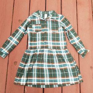 Carter's Plaid Dress, Size 6